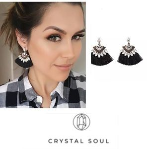 Just In🎉Bohemia Rhinestone Tassel Earrings